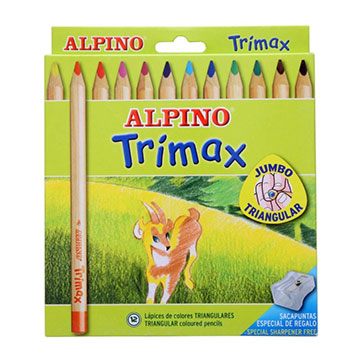 Alpino 490251 Pack de 12 lápices